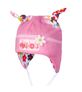 100/% Cotton TIE UP SUN hat BONNET Summer BABY GIRLS Infant KIDS 0-9 months