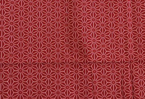 Nuevas sustancias auténticos japonesa patrón//asa gara Kon//patrón cáñamo rojo