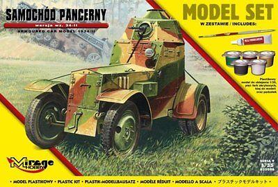 1//35 MIRAGE WZ 34 voiture blindée Polish /& German Wehrmacht MKGS