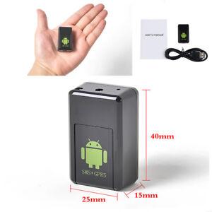 GF-08 Mini GPS Realtime Car Tracker Locator GSM//GPRS Listening Device Camera