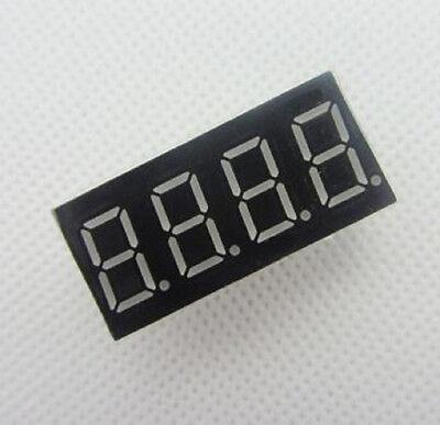 "5pcs New 0.36/"" 0.36 inch 7 Segment Display Blue LED 4 Digit Common Cathode"