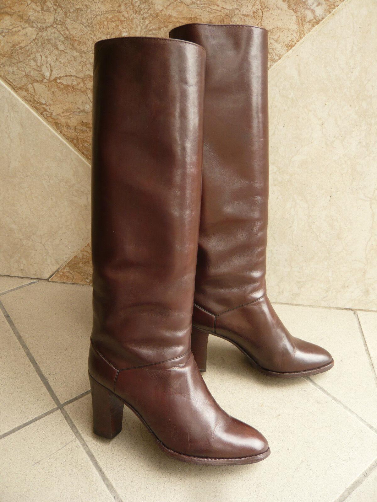 Boots Vintage Lario   Dark Brown   - 36,5