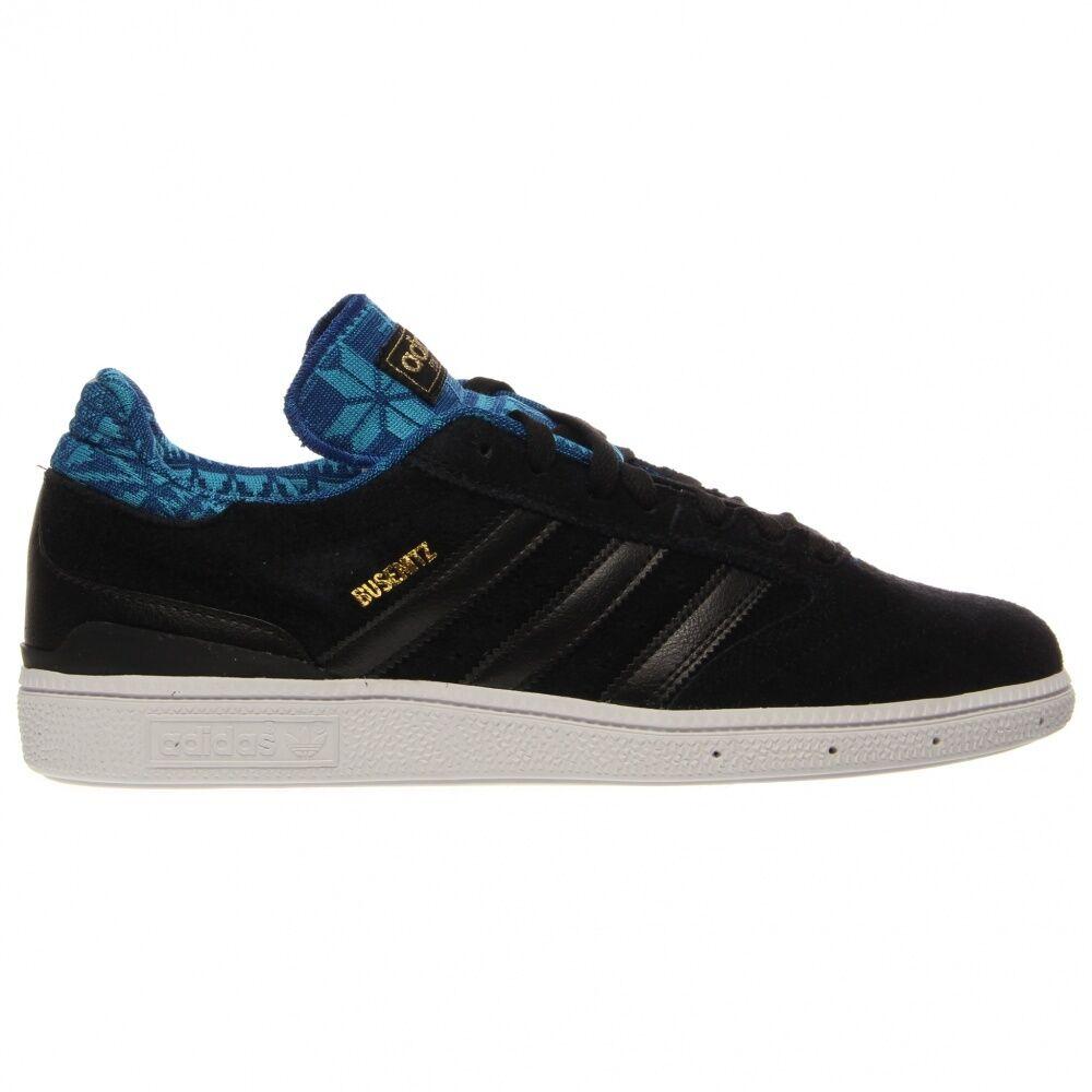 Adidas BUSENITZ Black Royal Blue Skateboarding Discounted (316) Men's Shoes