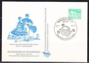 Germany-DDR-1982-Philatelic-Meeting-Dancers-Kalifestspiele-in-Wolmirstedt