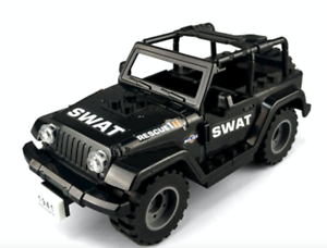 Building Blocks Jeep Wrangler Off-Road Car Model Toys Children DIY Gifts 57 PCS