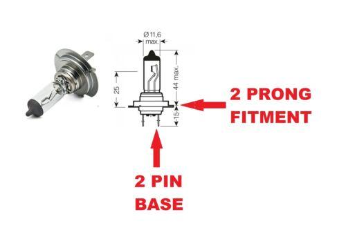 Vauxhall Meriva 03-10 Main//High Beam Headlight Bulbs Headlamp 12V 55W H7 Halogen