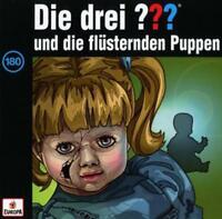 Busch - CDs - Die drei ??? (180) und die flüsternden Puppen, OVP, NEU, 8300939