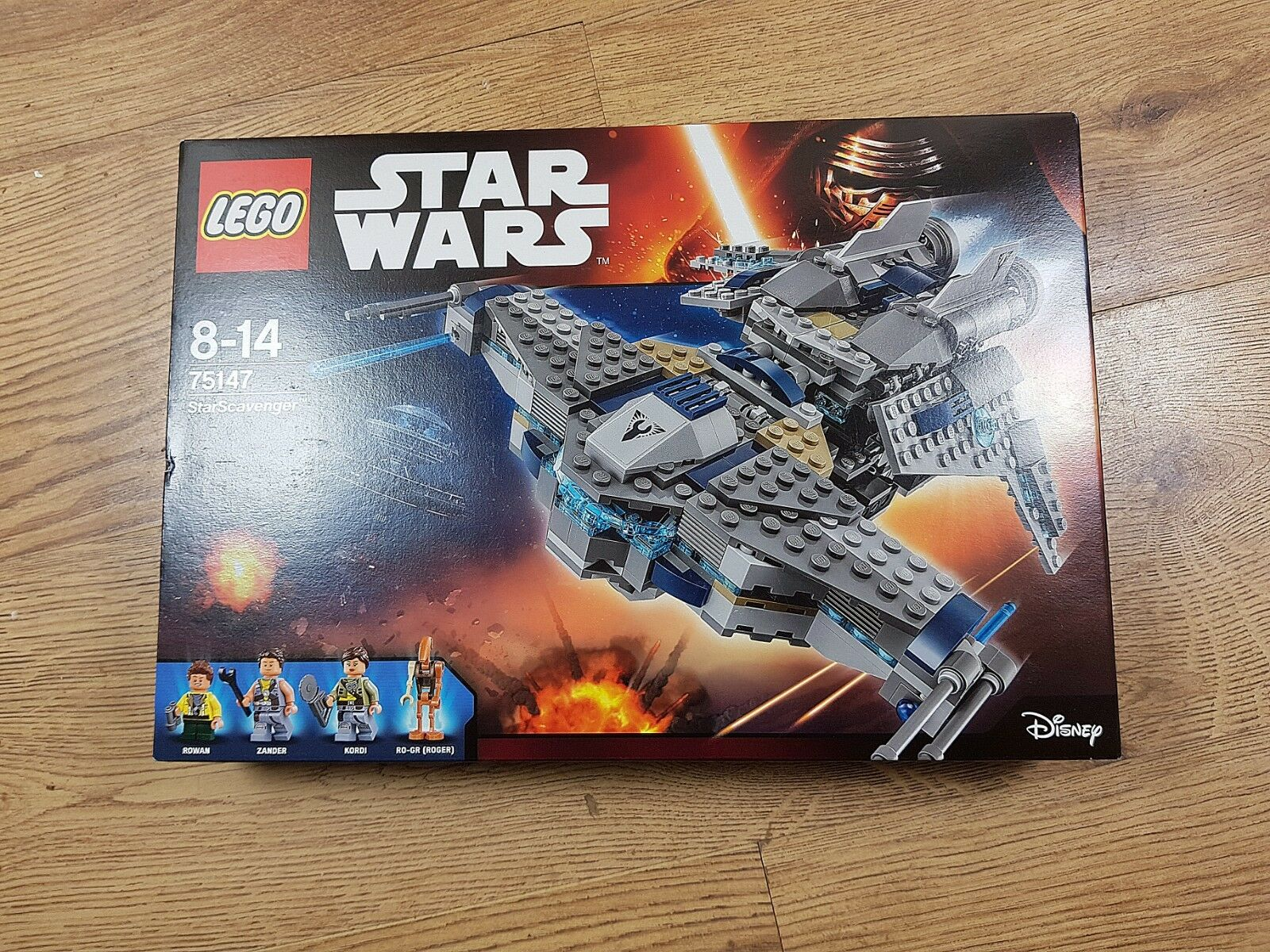 LEGO Star Wars 75147 StarScavenger from 2016   New, Unopened, Great Condition