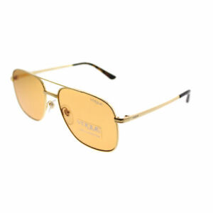 d1b397ad9c9 Vogue By Gigi Hadid VO 4083S 280 7 Gold Metal Aviator Sunglasses ...