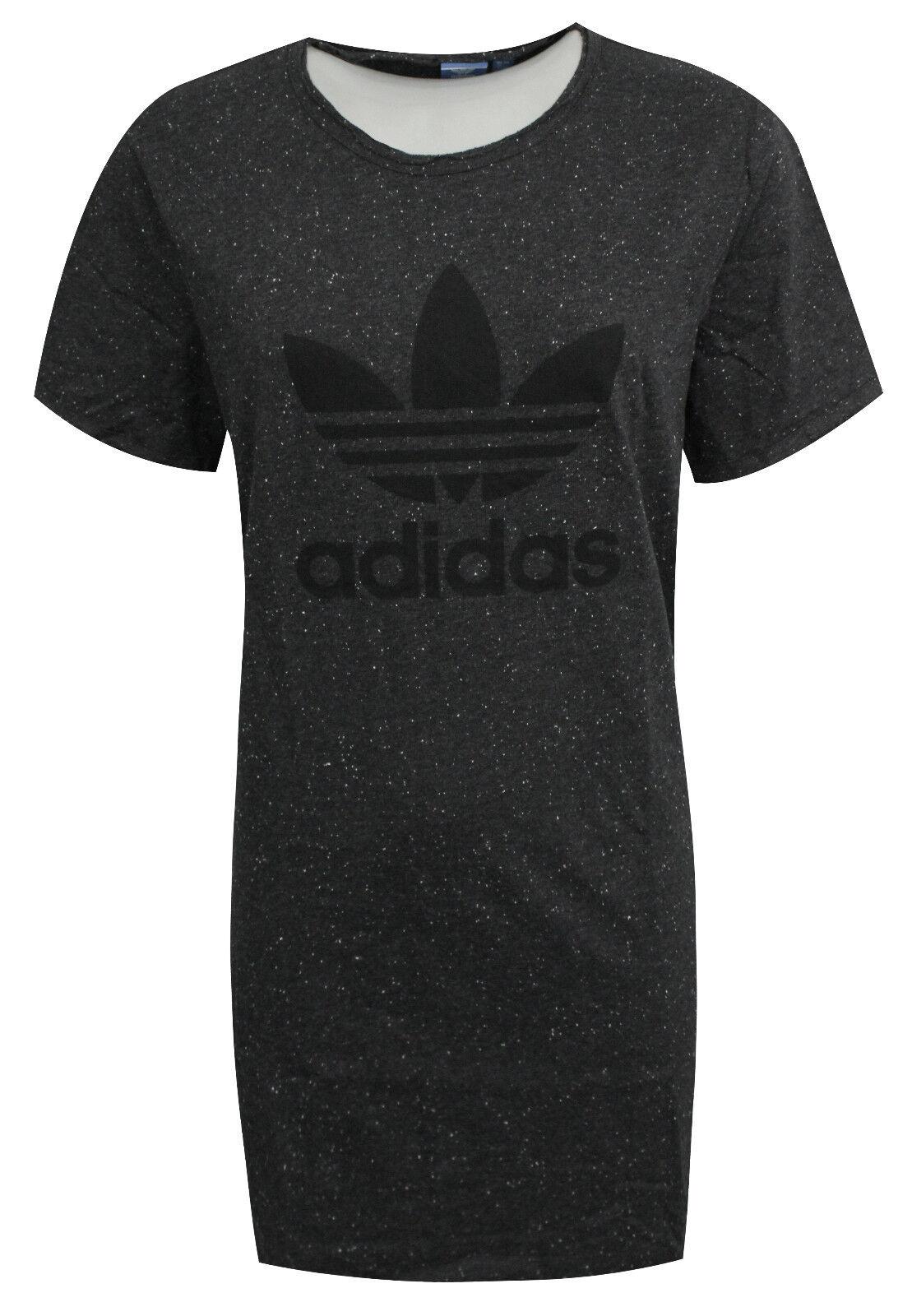 "Adidas ΓυναικΡίο Ο†ΟŒΟΞ΅ΞΌΞ± ΞΌΞ΅ τριαντάφυλλο T-shirt ΞΌΞ΅ ΞΊΞΏΞ½Ο""ΟŒ ΞΌΞ±Ξ½Ξ―ΞΊΞΉ T Shirt Γκρι BR4604 RW63"
