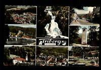 Triberg Schwarzwald Mehrbildkarte ~1950/60 Wasserfall Kurgarten Wallfahrtskirche