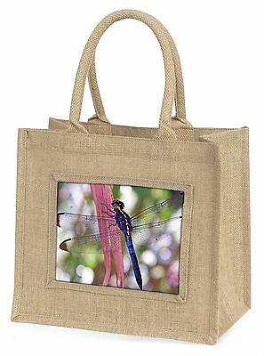 Libellen Aufdruck Große Natürliche Jute-einkaufstasche Weihnachten , IDR-3BLN