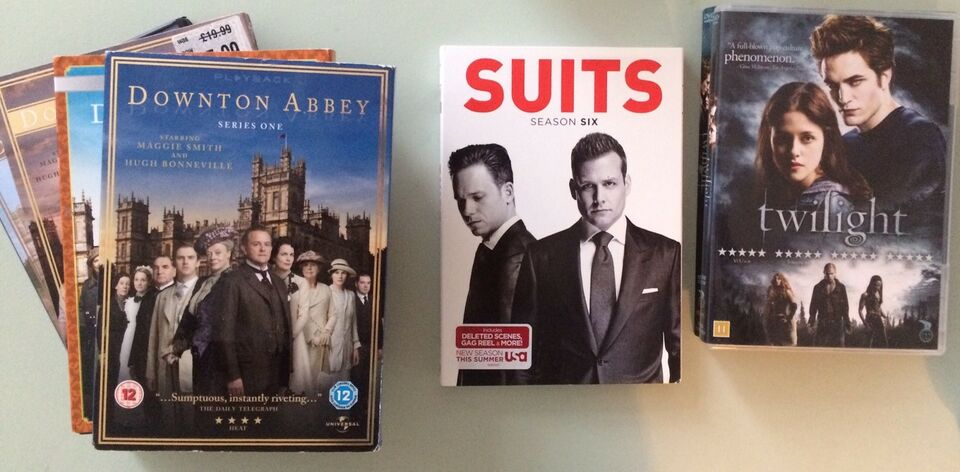 Suits og Twilight, DVD, drama