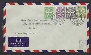 Rare-Malta-First-Day-Cover-Complete-9-November-1967-Postage-Dues