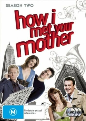 1 of 1 - How I Met Your Mother : Season 2 (DVD, 2008, 3-Disc Set)