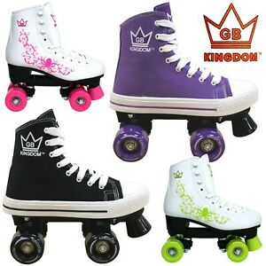 Kingdom-GB-Valkyrie-amp-Vector-MK-2-1-Women-039-s-amp-Girls-Quad-Roller-Skates
