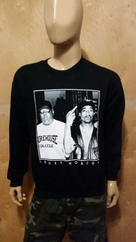 Tu-Pac Trust Nobody Crewneck 2PAC LA Row NWA The Game Cali WestCoast Crew Tupac