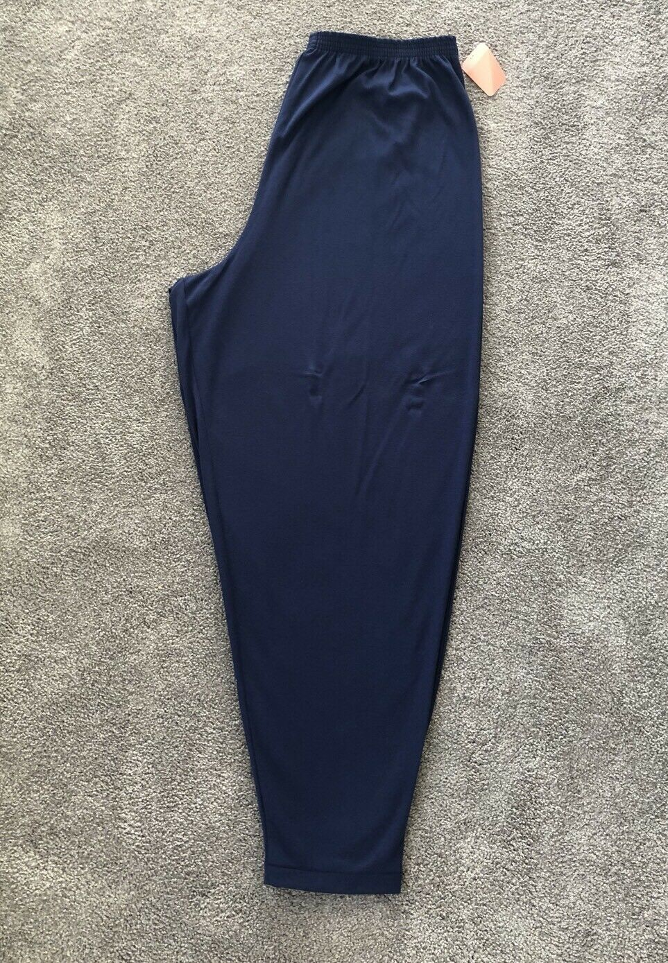 NEW PFI Fashions Navy Pants With Elastic Waist. Sz 8X. PFI 409