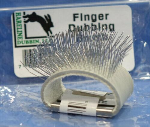 Finger Dubbing Brush Hareline USA Dubbing Brush für den Finger