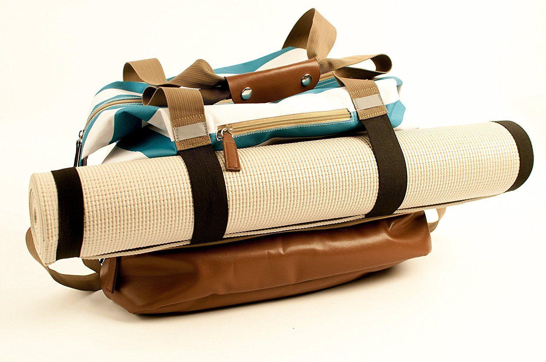 Luxury Yoga Bag, Canvas Large Yoga Mat Tote Bag Sport Gym Storage Bag, FAST SHIP
