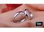 miniatura 3 - Fedi-Fedine-Fidanzamento-semplici-Anelli-Argento-925-Rodiato-Uomo-Donna