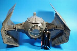 VINTAGE-Star-Wars-COMPLETE-Darth-Vader-TIE-FIGHTER-FIGURE-KENNER-WORKS