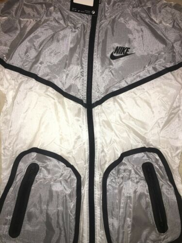 Manteau Windrunner 100 Blanc 586529 Femme pour Rare Gris Hyperfuse Nike rq45gr