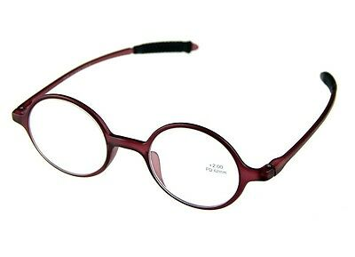 Classic Round Retro Reading Glasses Lightweight Material Frame Reader 4 Color