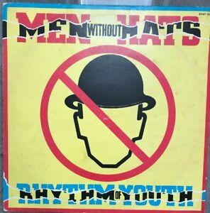 LP-Vinyl-Album-Men-Without-Hats-Rhythm-Of-Youth-Statik-Records-STAT-10-VG-EX