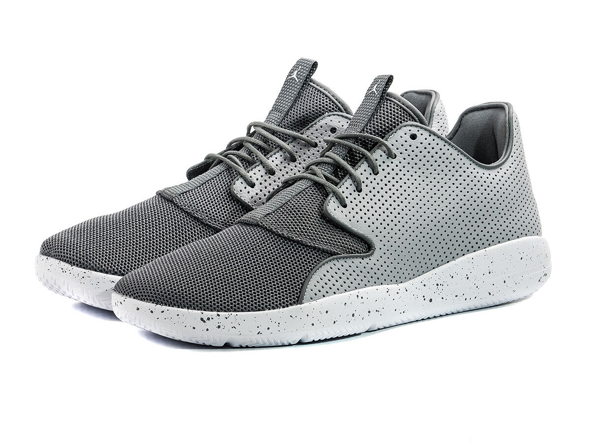 Nike Air Jordan Eclipse Wolf Grey Lightweight Leather Trainers 100% Authentic