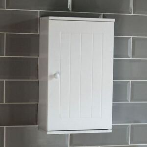 Image Is Loading Priano Bathroom Cabinet Wall Mounted Single Door Cupboard