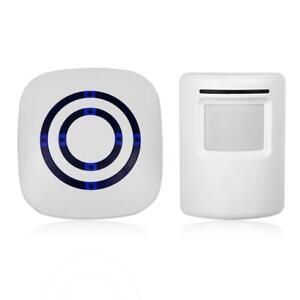 Sans-Fil-Detecteur-Mouvement-Garage-Allee-Infrarouge-PIR-Alerte-Capteur-Systeme