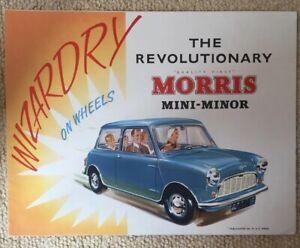 MORRIS-MINI-MINOR-Car-Sales-Brochure-8-59-5950-A