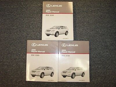 2007 2008 LEXUS RX350 RX 350 FACTORY WORKSHOP REPAIR SEVICE MANUAL CD