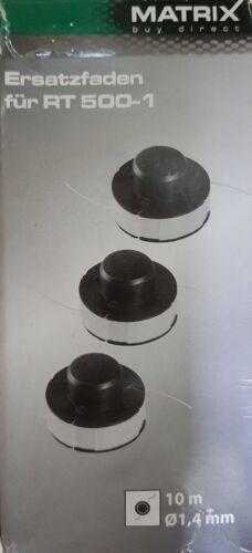 2x Matrix 3er PACK  Ersatzfaden für RT 500-1   Ø 1,4 mm 10m  11007 B-Ware