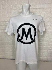 Details about Nike Kobe Bryant Mamba Sports Academy White DriFit Tee T-shirt Medium Jersey
