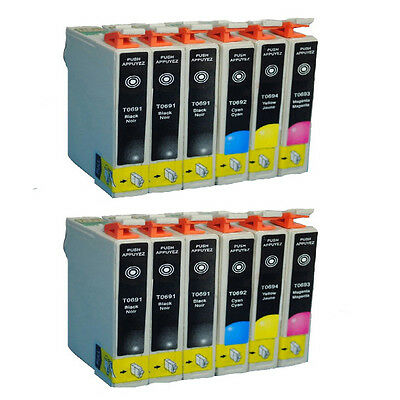 12pk T0691-94 Ink cartridge for Stylus NX100 NX105 NX110 NX115 NX215 NX300 NX315