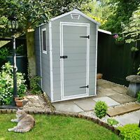 Keter Manor 4 X 6 Ft. Storage Shed