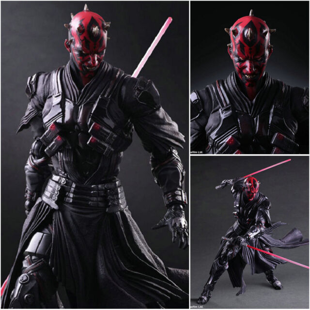 star wars variant play arts kai darth maul statue action figure toy
