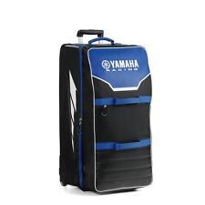 Yamaha Racing Black/Blue XL Motorbike Riding Gear Bag / Trolley Case