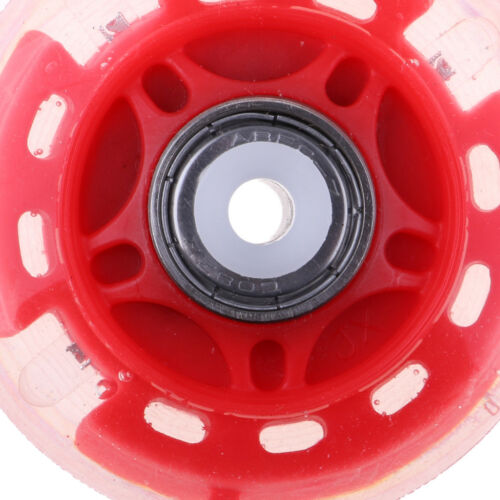 4 Pcs Outdoor Inline Roller Skates Skating Replacement PU Wheel Scooter 64mm