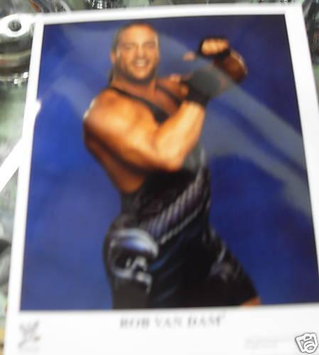 WWE PHOTO RVD ROB VAN DAM 8 X 10 PICTURE