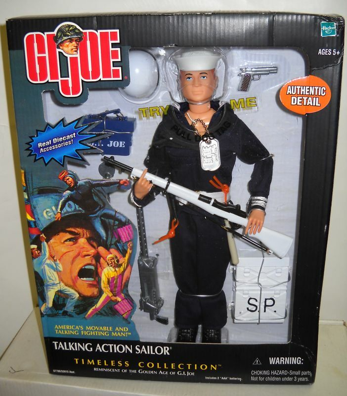 1247 Timeless Collection Talking GI JOE Action Sailor