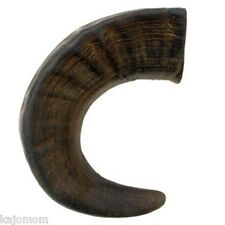 MEDIUM Water Buffalo Horns Dog Chews Treat Better Than Antlers Bully ABO GEAR
