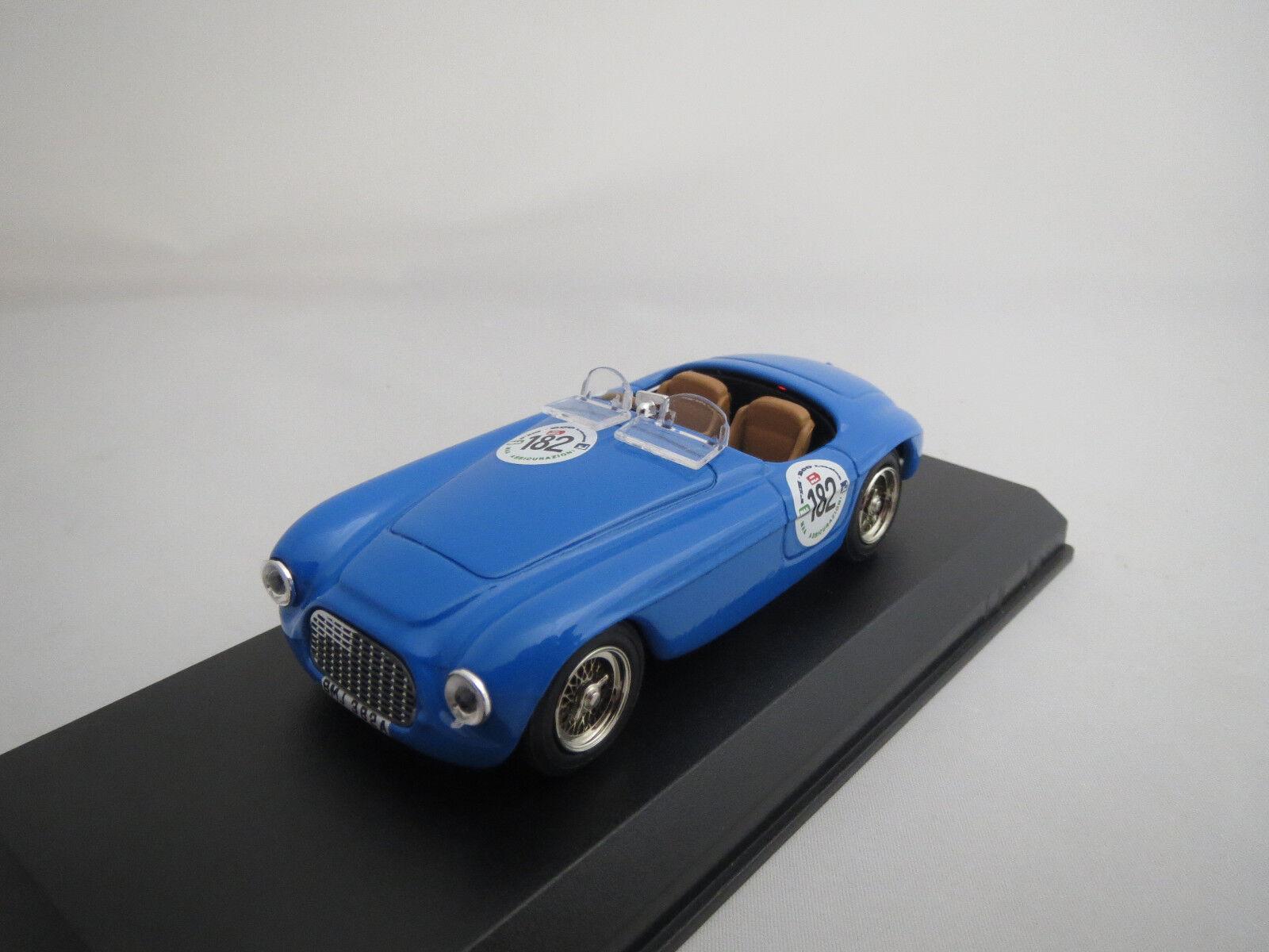 ART Model  Ferrari  166 MM  Mille  Miglia   1991   (blue)  1 43  OVP