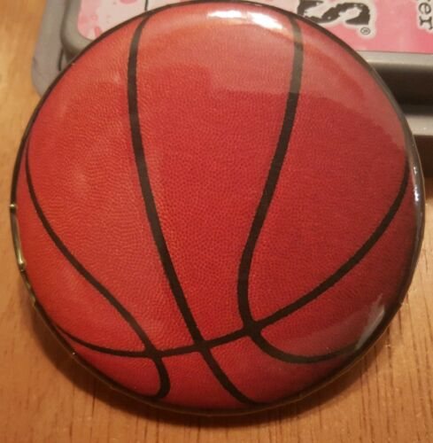 """2.25/"""" Basketball Pin Button"""
