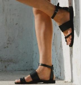Flat Beach Roman Bohemia Sandals Shoes Retro Fashion Womens ulOkZTwPXi