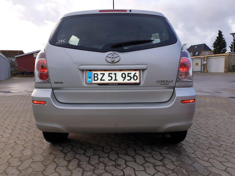 Toyota Corolla Verso, 1,8 Sol 7prs, Benzin