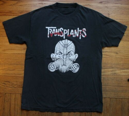 Transplants Concert Tour Shirt Mens Large Vntg Ban