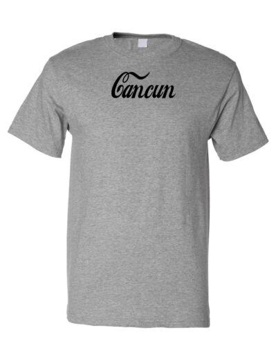 Cancun Cotton Unisex T-Shirt Tee Shirt Top